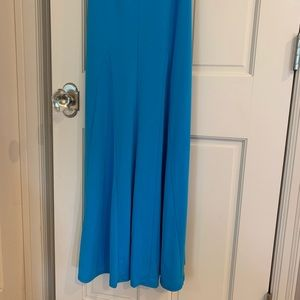 Cache Dresses - Formal gown in bright blue size 6